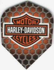 Harley Davidson Honeycomb Dart Flights: 3 per set