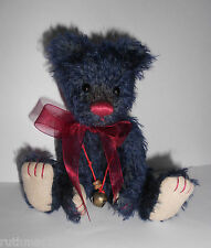 Charlie Bears MIDNIGHT Minimo ~ Isabelle Lee 2009 ~ RETIRED SUPER RARE and VHTF