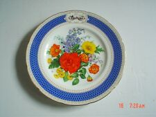 Wedgwood THE 1983 CHELSEA FLOWER SHOW PLATE Collectors Plate CHELSEA PRIDE