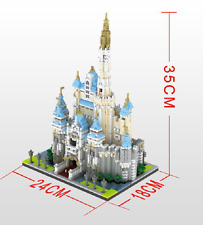 Castle Nanoblock 3D Building block toy The highest difficulty 4708pcs/sets