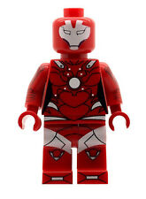 Custom Minifigure Pepper Potts as Rescue Ironman Printed on LEGO Parts