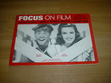 FOCUS on Film Magazine Mickey Rooney & Judy Garland cover # 19 Autumn 1974