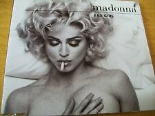MADONNA BAD GIRL  CD SINGOLO DIGIPACK SIGILLATO  6 TRACKS