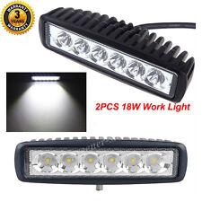 2x18W Phare Feux de Travail Cree LED Spot Beam Projecteur Off Road Lampe UTE 4WD