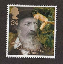 GB 1992 - Alfred Lord Tennyson - 24p Stamp MNH