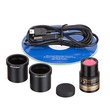 USB Still & Live Video Microscope Imager Digital Camera + Calibration Kit