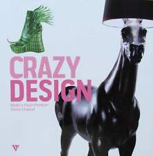 LIVRE/BOOK : CRAZY DESIGN (lampe,mobilier,chaise,chair,table,lamp,furniture
