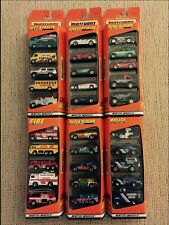 Matchbox 1997 5 Pack Gift Sets-Lot Of 6 NIB