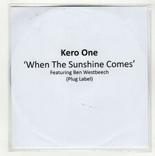 (GG123) Kero One, When The Sunshine Comes ft Ben Westbeech - 2009 DJ CD