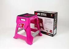 Cavalletto Moto Cross Enduro Rtech R15 Works Neon Hot Pink Mx Bike Stand