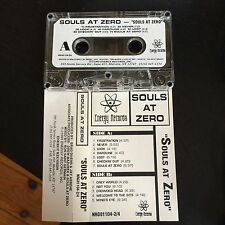 Rare SOULS AT ZERO Promo Tape Cassette Energy Records Roadrunner Records