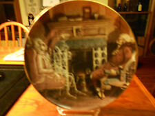 DEPARTMENT 56 COLLECTOR PLATE #2 1992 MARLEY'S GHOST APPEARS TO SCROOGE NIB