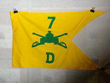 flag738 Vietnam 7th Regiment Armored Cavalry D Company   Guide On Ly
