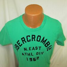 (XL) Abercrombie & Fitch Green Graphic T-Shirt