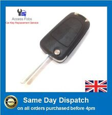 Astra H/ Zafira B Flip Key Remote 2 button (Vauxhall/ Opel) NEW & Complete