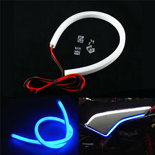 12V Motorcycle Blue LED Strips Car DRL Day Running Lamp Tail Light Flexible 30cm