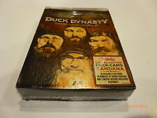 """New """"DUCK DYNASTY"""" Seasons 1-3 Collector's Set dvd 2013, 8-Disc Set- see detail"""