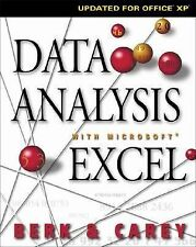 Data Analysis with Microsoft Excel: Updated for Office XP (with CD-ROM) Berk, K