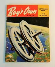 Boy's Own Paper September 1959 - 20 Years Ahead - What life will be like in 1980