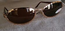 Police Vogart Sunglasses 3554 Vintage NWT Bronze Frames Made in Italy