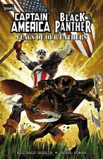 CAPTAIN AMERICA / BLACK PANTHER: FLAGS OF OUR FATHERS  (Marvel 2010 TPB SC)