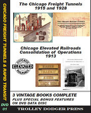 Chicago Rapid Transit and Tunnel Company PDF E-Books on Data Disc