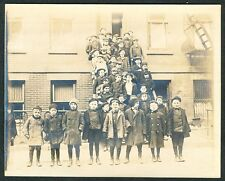 c. 1905 JEWISH PRIVATE SCHOOL STUDENTS, New York City Vintage Photo
