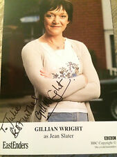 6x4 Hand Signed Photo Eastenders Jean Slater - Gillian Wright