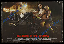 HOT ORIGINAL GRINDHOUSE PLANET TERROR 27x40 MOVIE POSTER! Rodriguez & Tarantino!