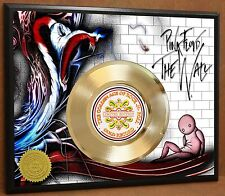 Pink Floyd LTD Poster Art Gold Record Music Memorabilia Free Shipping