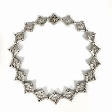 Doris Panos Diamond and 18K White Gold Necklace