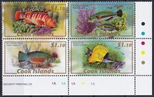 Cook Islands Mi-Nr. 1583 - 1586 VB **, Fische / Fishes / Poissons