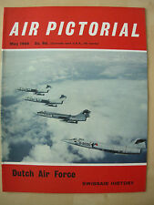 AIR PICTORIAL MAGAZINE MAY 1968 DUTCH AIR FORCE LOCKHEED STARFIGHTERS