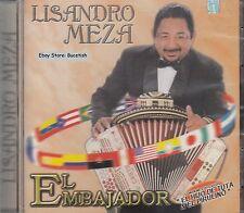 Lisandro Meza El Embajador CD Nuevo Sealed