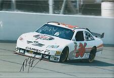 Mike SKINNER SIGNED NASCAR Champion 12x8 Photo AFTAL COA Autograph
