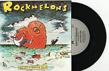 "ROCKMELONS - WHAT'S IT GONNA BE? - 7"" 45 VINYL RECORD PIC SLV 1988"