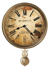 "620-441 HOWARD MILLER WALL CLOCK ""J.H. GOULD AND CO. III ""  620441"