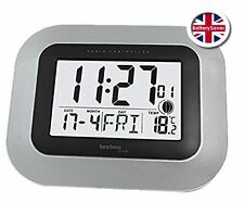 Technoline WS-8005 LCD Digital Wall Clock DCF-77