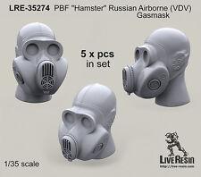 "Live Resin 1/35 LRE-35274 PBF ""Hamster"" Russian Airborne (VDV) Gasmask (1)"