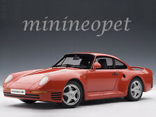 AUTOart 78082 PORSCHE 959 1/18 DIECAST MODEL CAR RED