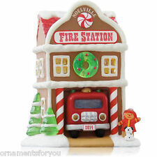 Hallmark 2014 Fire Station Noelville Series Ornament
