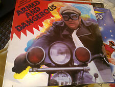 "LP 12"" ARMMED AND DANGEROUS OST USA 1986 BILL MEYERS COVER EX VINILE N/MINT"