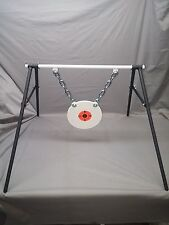 AR500 STEEL 3/8''X8'' Gong Target Stand  Rifle Pistol Shooting Metal  Rang