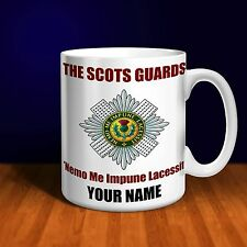 The Scots Guards Personalised Ceramic Mug