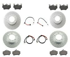 Friction Brake KIT Porsche 911 Carrera (997) Rotors,Pads,Wear Sensor,Font & Rear
