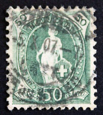 Timbre SUISSE - Stamp SWITZERLAND - Yvert et Tellier n°97 obl (Cyn15)