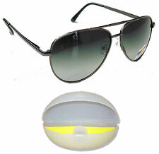 Black Polarised Original Sunglasses 100% UV Protected SunGlasses Dust Protection