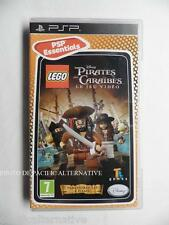 LEGO DISNEY PIRATES DES CARAIBES le jeu video sur sony PSP game spiel COMPLET