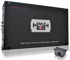 Pyle PLBA530FRD 6800W 5 Channel Class D Full Range Car Speaker Amplifier