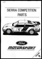 RS COSWORTH SIERRA COMPETITION PARTS MANUAL 500